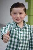 Το ευτυχές αγόρι απολαμβάνει μια ηλιόλουστη ημέρα Στοκ εικόνα με δικαίωμα ελεύθερης χρήσης