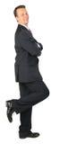 το ευτυχές αδύνατο πόδι έν&al Στοκ εικόνες με δικαίωμα ελεύθερης χρήσης