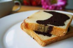 Το εύγευστο βουτύρου κέικ Στοκ Εικόνες
