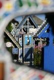 Το εύθυμο νεκροταφείο είναι ένα νεκροταφείο στο χωριό SăpânÈ› α, MaramureÅŸ νομός, Ρουμανία Στοκ φωτογραφίες με δικαίωμα ελεύθερης χρήσης
