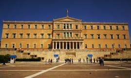 Το ελληνικό Sintagma Plaza Στοκ Εικόνες
