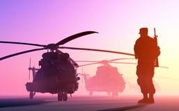 Το ελικόπτερο Στοκ φωτογραφία με δικαίωμα ελεύθερης χρήσης