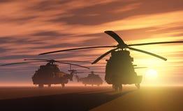 Το ελικόπτερο Στοκ φωτογραφίες με δικαίωμα ελεύθερης χρήσης