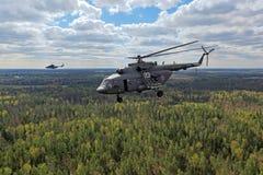 Το ελικόπτερο mi-8 Στοκ εικόνες με δικαίωμα ελεύθερης χρήσης