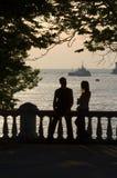 το ζευγάρι Στοκ εικόνα με δικαίωμα ελεύθερης χρήσης