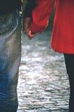 το ζεύγος δίνει την ευτ&upsilon Στοκ Εικόνα
