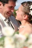το ζεύγος πάντρεψε τις ν&epsilo Στοκ εικόνα με δικαίωμα ελεύθερης χρήσης