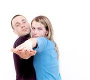 το ζεύγος χορεύει εγώ Στοκ Φωτογραφία