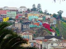 Το ζωηρόχρωμο λιμάνι Valparaiso, Χιλή στοκ φωτογραφία με δικαίωμα ελεύθερης χρήσης