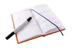 το ημερολόγιο Στοκ φωτογραφία με δικαίωμα ελεύθερης χρήσης