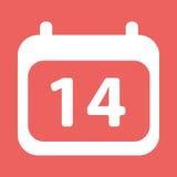 Το ημερολόγιο γιορτάζει την αγάπη ελεύθερη απεικόνιση δικαιώματος