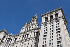 Το δημοτικό κτήριο στην πόλη της Νέας Υόρκης στοκ φωτογραφίες με δικαίωμα ελεύθερης χρήσης