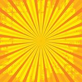 το δημοφιλές αστέρι ακτίνων εξερράγη το βρώμικο τρύγο υποβάθρου grunge ελεύθερη απεικόνιση δικαιώματος