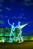 Το δημόσιο γλυπτό χορευτών στο Ντένβερ Στοκ Φωτογραφία