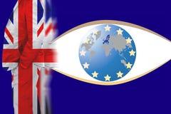 Το Ηνωμένο Βασίλειο από ιδιότητα μέλους από την Ευρωπαϊκή Ένωση στοκ φωτογραφίες