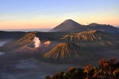 Το ηφαίστειο τοποθετεί Bromo στην ανατολή, ανατολική Ιάβα, Ινδονησία, Ασία Στοκ Φωτογραφία