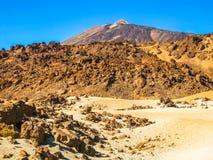 Το ηφαίστειο Teide Στοκ φωτογραφίες με δικαίωμα ελεύθερης χρήσης