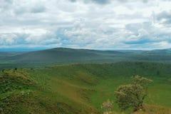 Το ηφαιστειακό Hill πολεμιστών ύπνου κρατήρων, Naivasha, Rift Valley, Κένυα Στοκ φωτογραφία με δικαίωμα ελεύθερης χρήσης