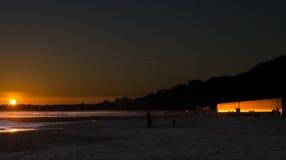 Απεικόνιση του ηλιοβασιλέματος Στοκ Φωτογραφία