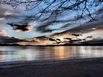 Το ηλιοβασίλεμα συλλαμβάνει Στοκ Φωτογραφίες