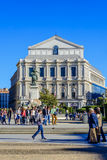 Το θέατρο οπερών στη Μαδρίτη Στοκ φωτογραφία με δικαίωμα ελεύθερης χρήσης