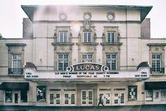 Το θέατρο του Lucas Στοκ εικόνα με δικαίωμα ελεύθερης χρήσης