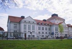Το θέατρο Greifswald Στοκ Εικόνες