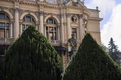 Το θέατρο Juliusz Slowacki στην Κρακοβία στην Πολωνία Στοκ Εικόνα
