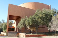 Το θέατρο Omni Imax στο Fort Worth, Τέξας Στοκ Φωτογραφίες