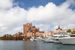 Το θέρετρο νησιών παραδείσου Atlantis σε Nassau, Μπαχάμες Στοκ φωτογραφία με δικαίωμα ελεύθερης χρήσης