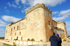 Το θαυμάσιο Castle Buen Amor Topas, Σαλαμάνκα, Ισπανία Στοκ εικόνα με δικαίωμα ελεύθερης χρήσης