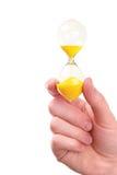 το θηλυκό χέρι γυαλιού κ&rho Στοκ εικόνα με δικαίωμα ελεύθερης χρήσης