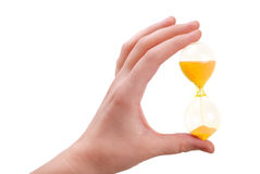 το θηλυκό χέρι γυαλιού κ&rho Στοκ εικόνες με δικαίωμα ελεύθερης χρήσης
