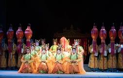 Το θηλυκό δικαστηρίου η υπάλληλος-όπερα γάμος-Jiangxi του αυτοκράτορα pearl† Στοκ φωτογραφία με δικαίωμα ελεύθερης χρήσης
