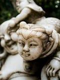 Το θρυλικό άγαλμα του Θεού στα μυθιστορήματα φαντασίας της Κίνας είναι εντοπίζει στοκ φωτογραφία