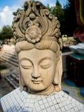 Το θρυλικό άγαλμα του Θεού στα μυθιστορήματα φαντασίας της Κίνας είναι εντοπίζει στοκ εικόνα με δικαίωμα ελεύθερης χρήσης