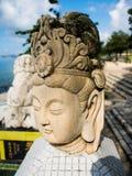 Το θρυλικό άγαλμα του Θεού στα μυθιστορήματα φαντασίας της Κίνας είναι εντοπίζει στοκ φωτογραφία με δικαίωμα ελεύθερης χρήσης