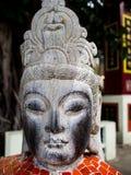 Το θρυλικό άγαλμα του Θεού στα μυθιστορήματα φαντασίας της Κίνας είναι εντοπίζει στοκ εικόνες