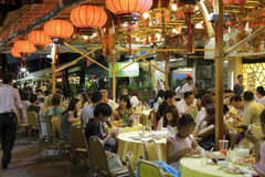 Το διάσημο εστιατόριο θαλασσινών saigon Στοκ Εικόνα
