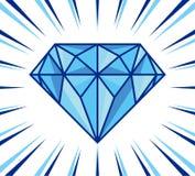 Το διαμάντι λάμπει Στοκ εικόνα με δικαίωμα ελεύθερης χρήσης