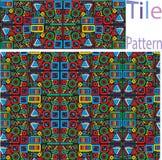 Το διανυσματικό άνευ ραφής άσπρο γεωμετρικό πρωτόγονο τετράγωνο εμποδίζει το ελαφρύ κτύπημα πλέγματος Στοκ Φωτογραφίες