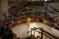 το ιαπωνικό κιμονό εμφανίζ&eps Στοκ Φωτογραφία