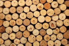 Το διαφορετικό κρασί βουλώνει τη σύσταση Στοκ φωτογραφία με δικαίωμα ελεύθερης χρήσης