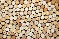 Το διαφορετικό κρασί βουλώνει τη σύσταση Στοκ εικόνες με δικαίωμα ελεύθερης χρήσης