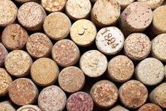 Το διαφορετικό κρασί βουλώνει τη σύσταση Στοκ εικόνα με δικαίωμα ελεύθερης χρήσης