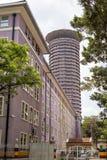 Το διεθνές κέντρο Συνθηκών Kenyatta, Ναϊρόμπι, Κένυα Στοκ φωτογραφία με δικαίωμα ελεύθερης χρήσης