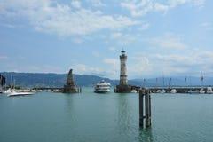 Το λιμάνι από το lindau στοκ φωτογραφία με δικαίωμα ελεύθερης χρήσης