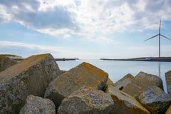 Το λιμάνι σε Hvide Sande Στοκ εικόνες με δικαίωμα ελεύθερης χρήσης