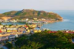 Το λιμάνι Dalian Lusun στοκ φωτογραφίες