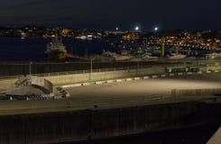 Το λιμάνι Golfo Aranci Στοκ Εικόνες